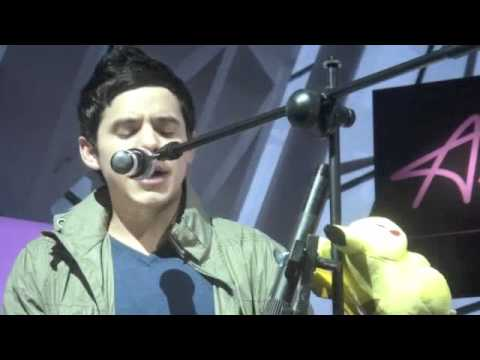 David Archuleta - [ACOUSTIC - Good Place/Let It Be] Live @ Avalon at MBS, Singapore