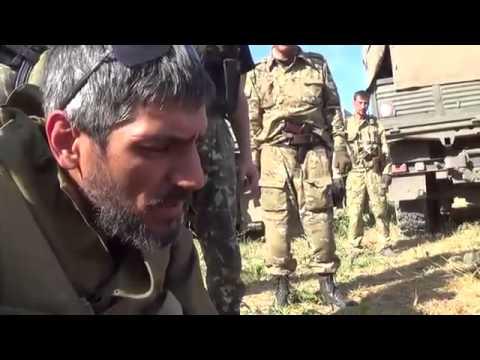 Разбитые каратели под Иловайском ДНР 30.08.2014