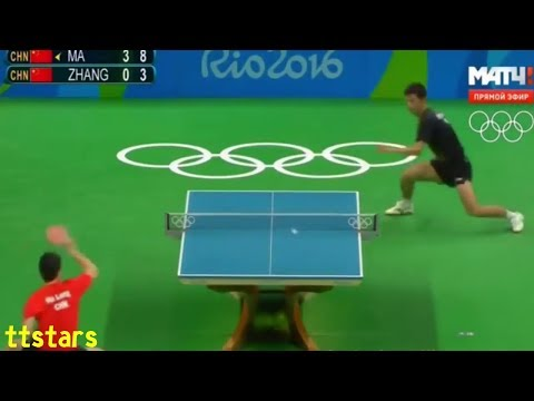Zhang Jike Vs Ma Long (Rio Olympic 2016)