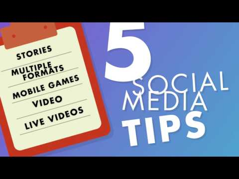 Top Social Media Marketing Tips For 2017 - Social Media Minute