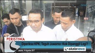 Skalanews.com - Anggota DPR RI dari Fraksi Partai Amanat Nasional (PAN), Teguh Juwarno mengaku sempat bertanya-tanya kepada penyidik KPK, saat menjalani pemeriksaan sebagai saksi untuk tersangka kasus dugaan korupsi proyek e-KTP, Setya Novanto.Namun ternyata, Teguh baru mengetahui bahwa memang seperti itu prosedur pemeriksaan untuk kasus dan tersangka yang berbeda. Oleh karena itu, sebagai warga negara yang baik, dia pun akhirnya menjalani pemeriksaan, meski pernyataannya tak ada yang berbeda.[Risman Afrianda]Video: Deni HardimansyahVideo Editing: Danu NugrohoMusic: Motivational and Inspiring