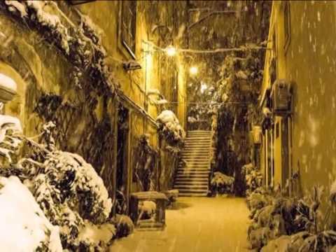 la nevicata a modica