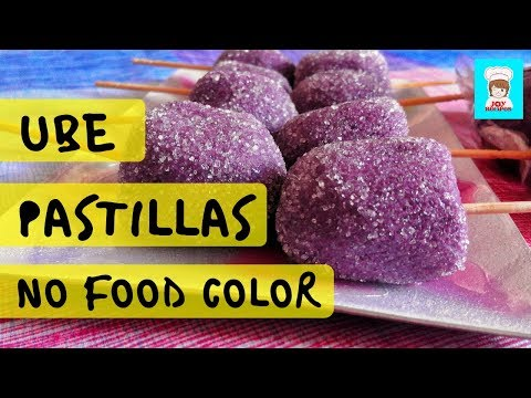 Ube Pastillas Easy Recipe | No Cook