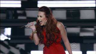 Demi Lovato - Give Your Heart A Break (At People's Choice Awards) (Live) lyrics (Portuguese translation). | The day I, first met you, 