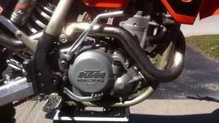 6. 2005 KTM 525 sx with under 20 original hours