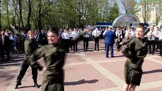Фееричная игра оркестра Белгородского музыкального колледжа под управлением С.В. Горбачёва