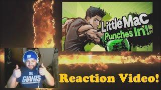 Reaction Video: Little Mac in Smash bros Wii U/3DS
