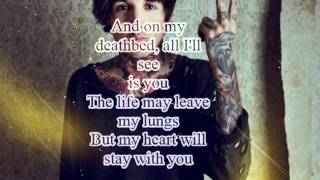 Bring Me The Horizon - Deathbeds Lyrics Video