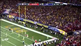 Tyrann Mathieu 62 Yard Punt Return (SEC Championship Game vs. Georgia) 12-3-11