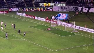 Copa Sulamericana 2011, 09/11/2011 Vasco da Gama (Diego Souza, Élton, Dedé (2), Alecsandro) 5 x 2 Universitário/PER (Ruidíaz, Rabanal) Estádio São Januário, ...