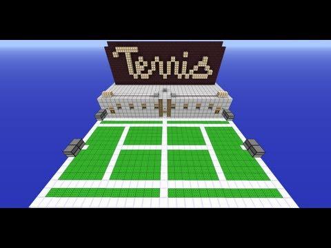 Minecraft Tennis
