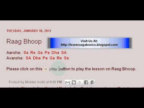 Raag Bhoop Swaramalika Lesson