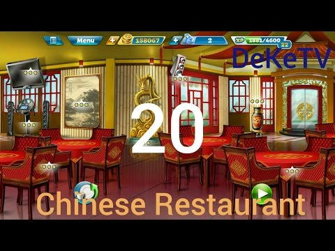 Cooking Fever - Chinese Restaurant Level 20 With 3 Stars