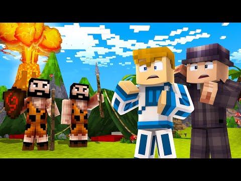 PODRÓŻE W CZASIE! | Minecraft Wehikuł Czasu #1