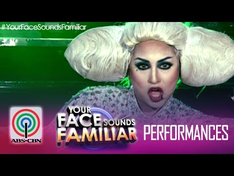 "Your Face Sounds Familiar: Jolina Magdangal as Lady Gaga – ""Bad Romance"""