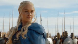 Daenerys secures an army without enslaving them.