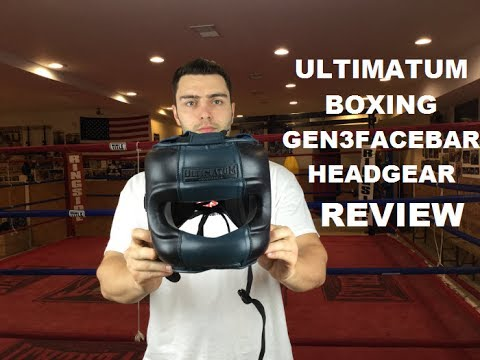 Ultimatum Boxing Gen3FaceBar Professional Facebar Headgear Review by ratethisgear
