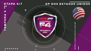 F1 2018 - Categoria F4 - 5ª Etapa - GP USA