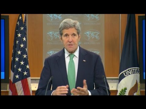 Kerry Says Islamic State Is Committing Genocide