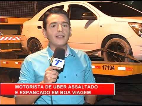 [RONDA GERAL] Motorista de Uber é assaltado e espancado em Boa Viagem
