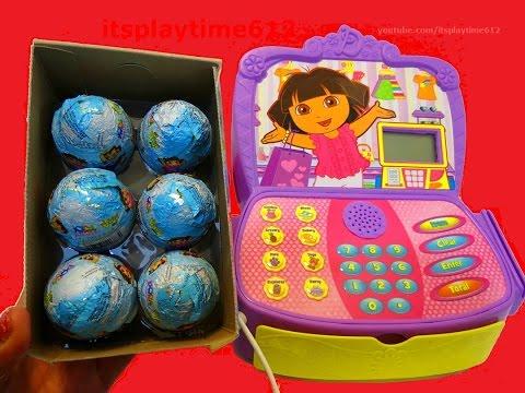 Dora The Explorer & Go Diego Go Surprise Eggs - itsplaytime612