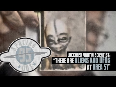 Lockheed Martin scientist: 'There are ALIENS and UFOs at Area 51' – Spacing Out! Ep. 95