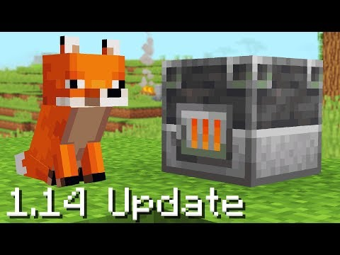 50 Updates NEW in Minecraft 1.14
