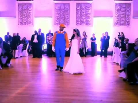 Best Wedding Dance Ever: Super Mario Surprise