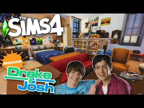 Sims 4 | Drake and Josh | Stop Motion Speed Build
