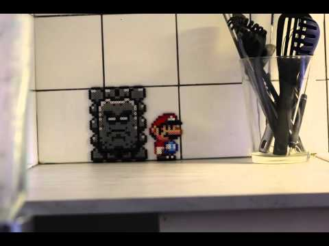 Animation en stop motion : Super Mario Beads 2