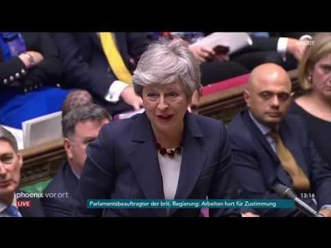 Fragestunde im Britischen Unterhaus am 27.03.19