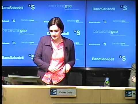 Esther Duflo Spricht in Barcelona Economics Vorlesung Teil 8/8