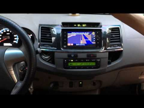 Màn hình DVD Android theo xe lắp đặt tại Hà Nội