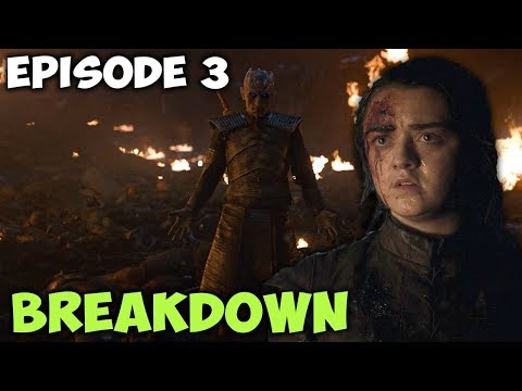 "⚔️ Game Of Thrones Season 8 Episode 3 ""The Long Night"" Breakdown!"