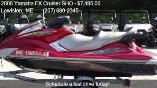 6. 2008 Yamaha FX Cruiser SHO  for sale in Lewiston, ME 04240 a