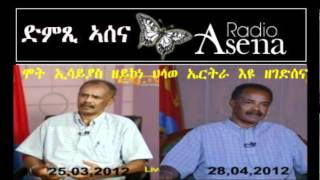 Voice Of Assenna: We Are Interested In Eritrea's Survival&Renaissance