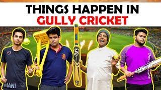 Video Things Happen in Gully Cricket | The Half-Ticket Shows MP3, 3GP, MP4, WEBM, AVI, FLV Januari 2019
