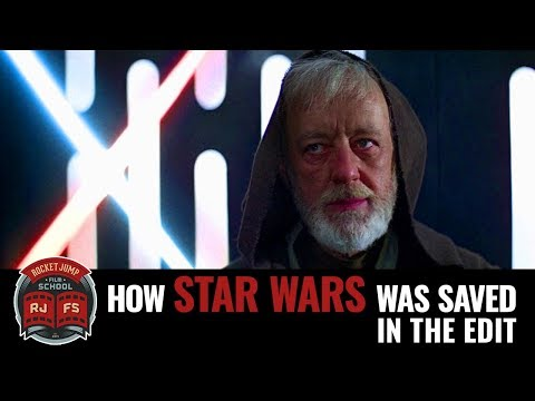 How Star Wars was saved in the edit (видео)