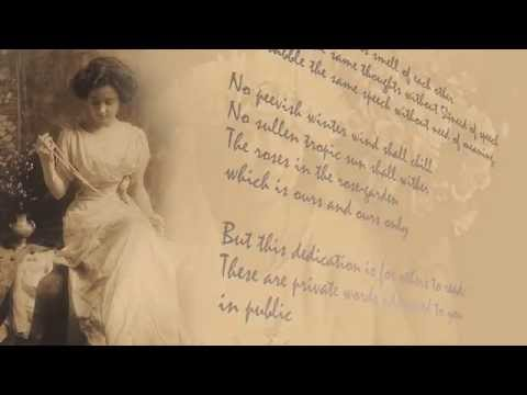 T. S. Eliot - 'A Dedication to My Wife' - HD film by Peter Hague - e-brink