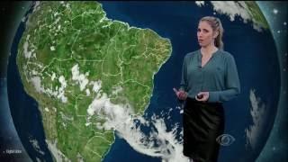 Previsão de mais temporais na região Sudeste. Pode chover em grande parte do Sudeste, Centro-Oeste e Norte. Parte do Nordeste ainda continua com temperaturas...