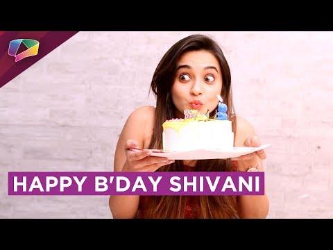 Shivani Surve Celebrates Her Birthday