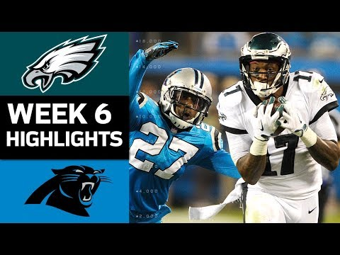 Video: Eagles vs. Panthers | NFL Week 6 Game Highlights