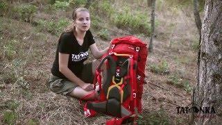 Универсальный туристический рюкзак для небольшого похода. Tatonka Pyrox 45