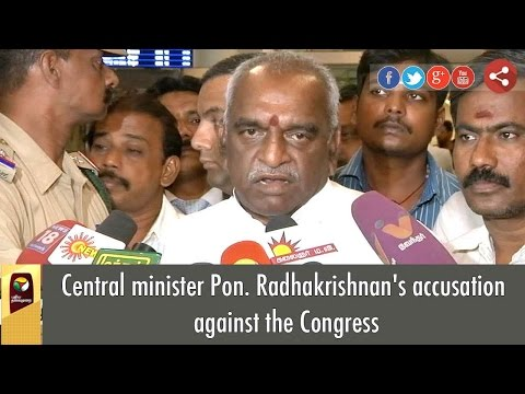 Central-minister-Pon-Radhakrishnans-accusation-against-the-Congress
