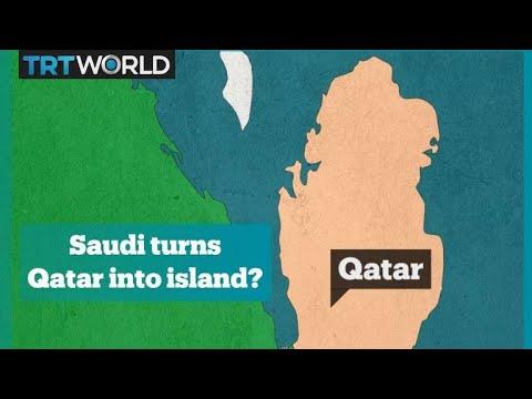 Saudi canal to turn Qatar into an island