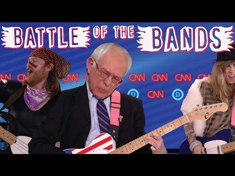Bernie Sanders VS Hillary Clinton Auto Tune Mash