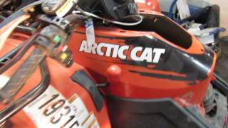 6. 2007 Arctic Cat 650 4x4 ATV