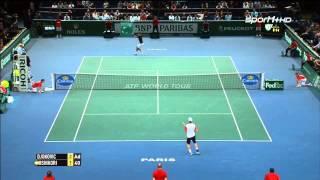 Tennis Highlights, Video - [HD]Trận bán kết Djokovic vs Nishikori Paris 2014