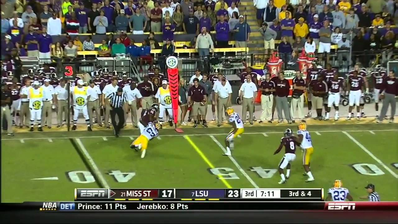 Tharold Simon vs Mississippi State (2012)