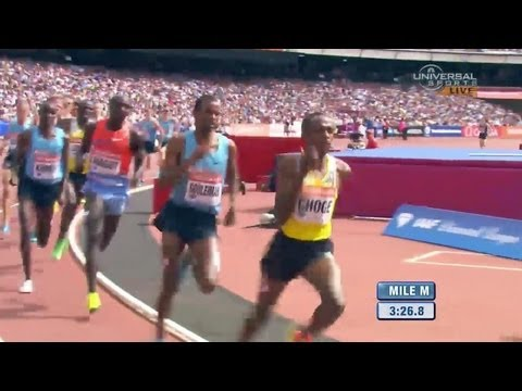 Rupp top American in Emsley Carr Mile - London Diamond League 2013